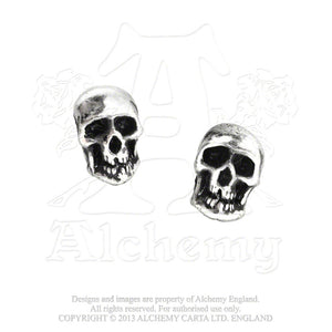 Alchemy Gothic Death Pair of Earrings - Gothic Spirit