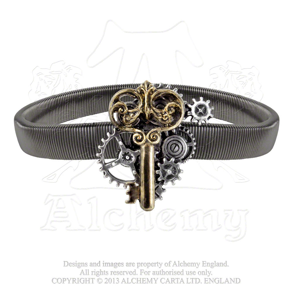 Alchemy Empire: Steampunk Key To Progress Sleeve Band from Gothic Spirit