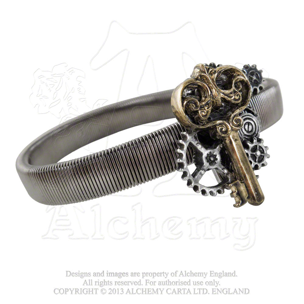 Alchemy Empire: Steampunk Key To Progress Sleeve Band - Gothic Spirit