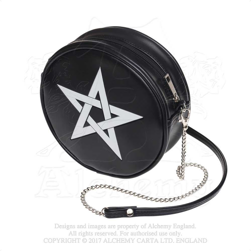 Alchemy Gothic Pentagram Purse Bag - Gothic Spirit