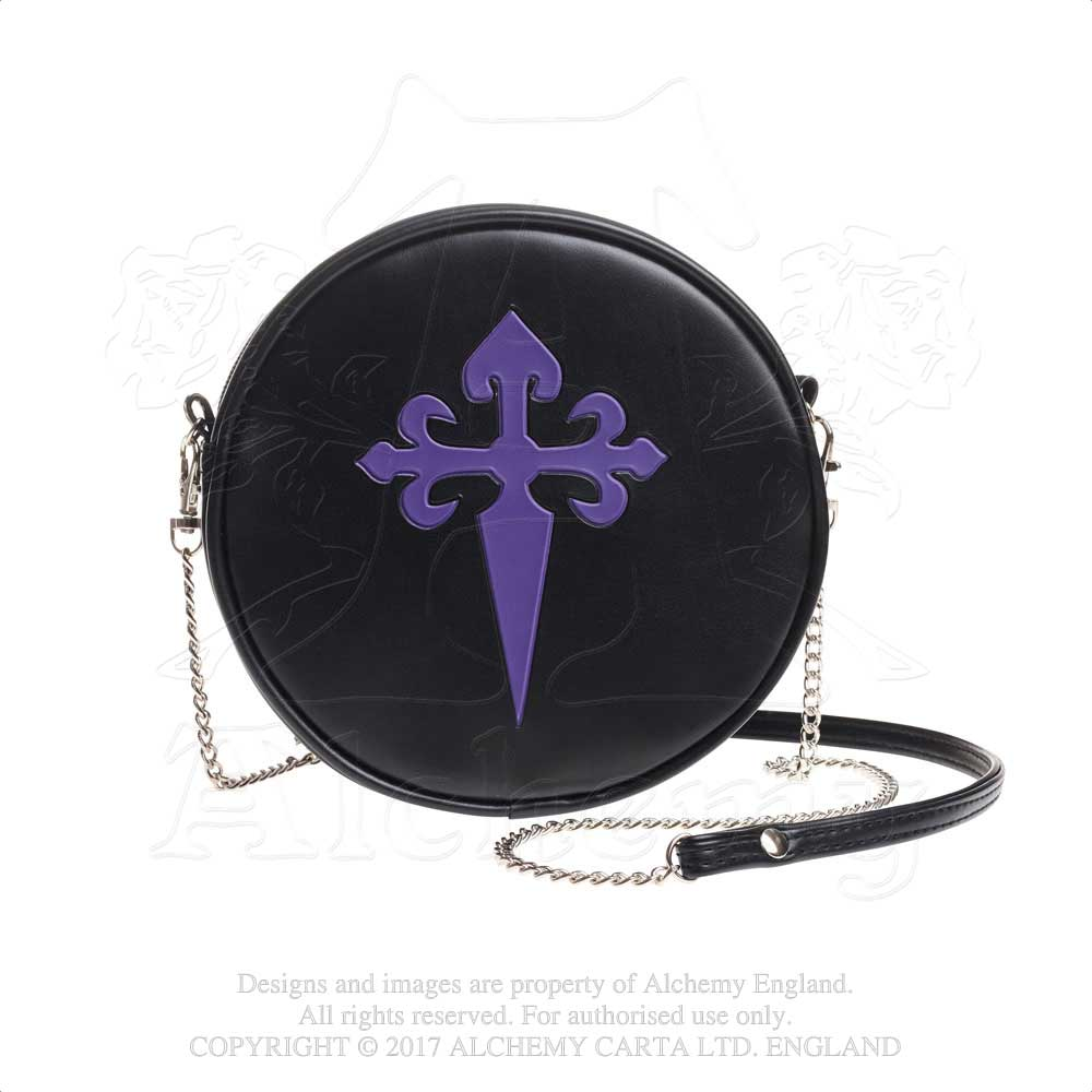 Alchemy Gothic Gothic Cross Purse Bag - Gothic Spirit