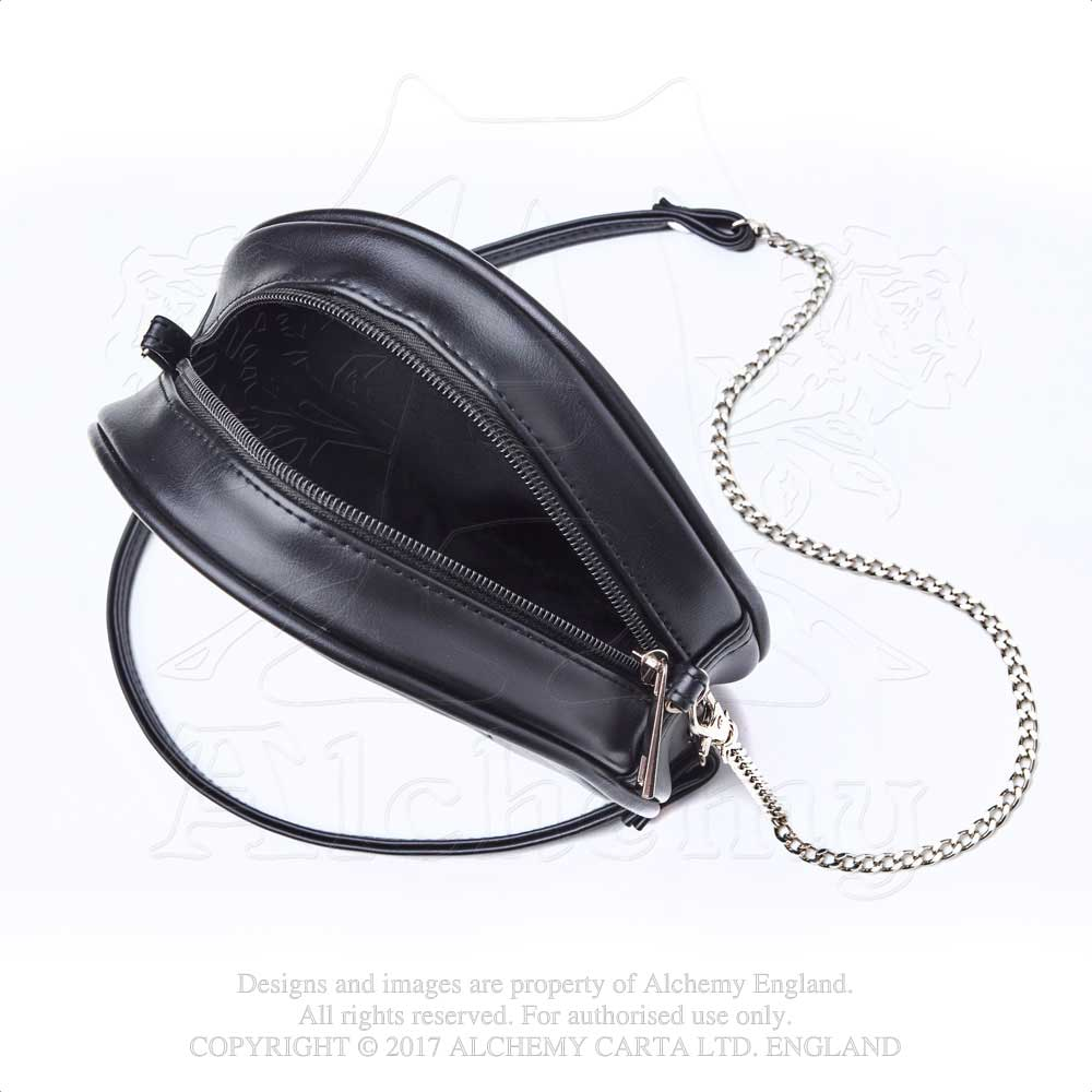 Alchemy Gothic Raven Moon Purse Bag from Gothic Spirit