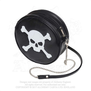 Alchemy Gothic Skull & Crossbones Purse Bag from Gothic Spirit