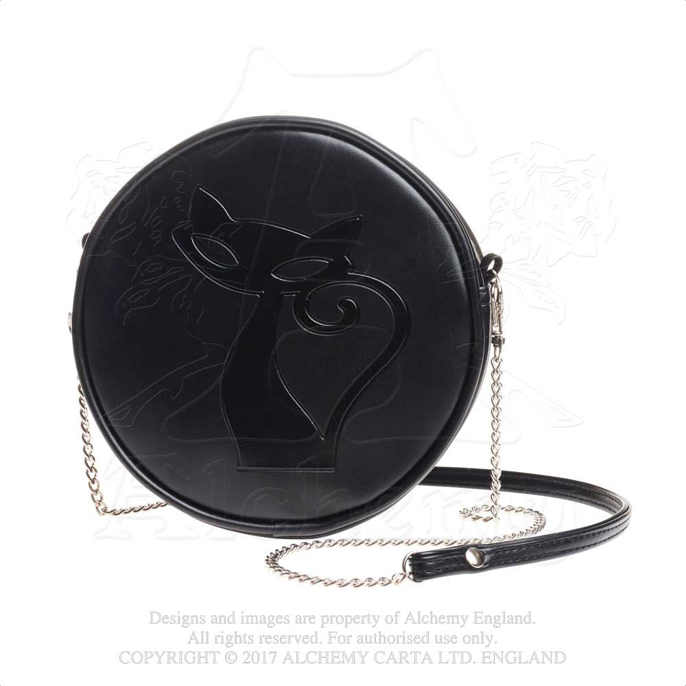 Alchemy Gothic Black Cat Purse Bag from Gothic Spirit