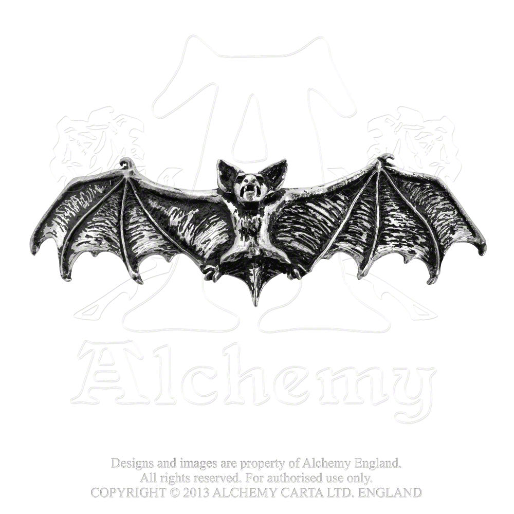 Alchemy Gothic Darkling Bat Hair Slide from Gothic Spirit