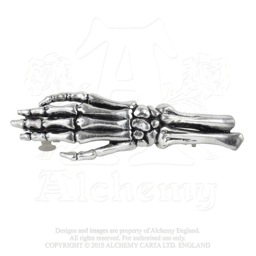 Alchemy Gothic Get a Grip Hair Clip from Gothic Spirit
