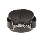 Alchemy Rocks Motorhead: logo Leather Wriststrap - Gothic Spirit