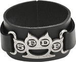 Alchemy Rocks 5FDP Knuckle Duster Leather Wriststrap - Gothic Spirit