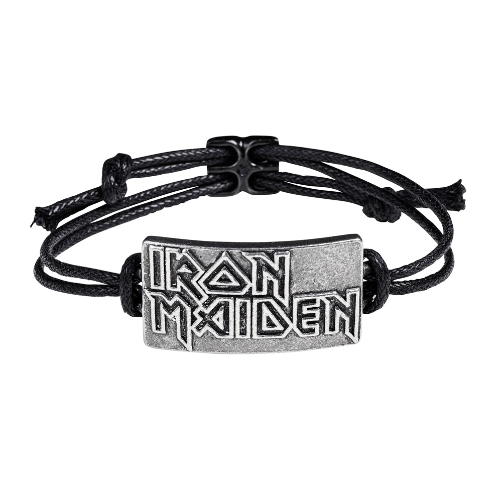 Alchemy Rocks Iron Maiden: Logo Bracelet