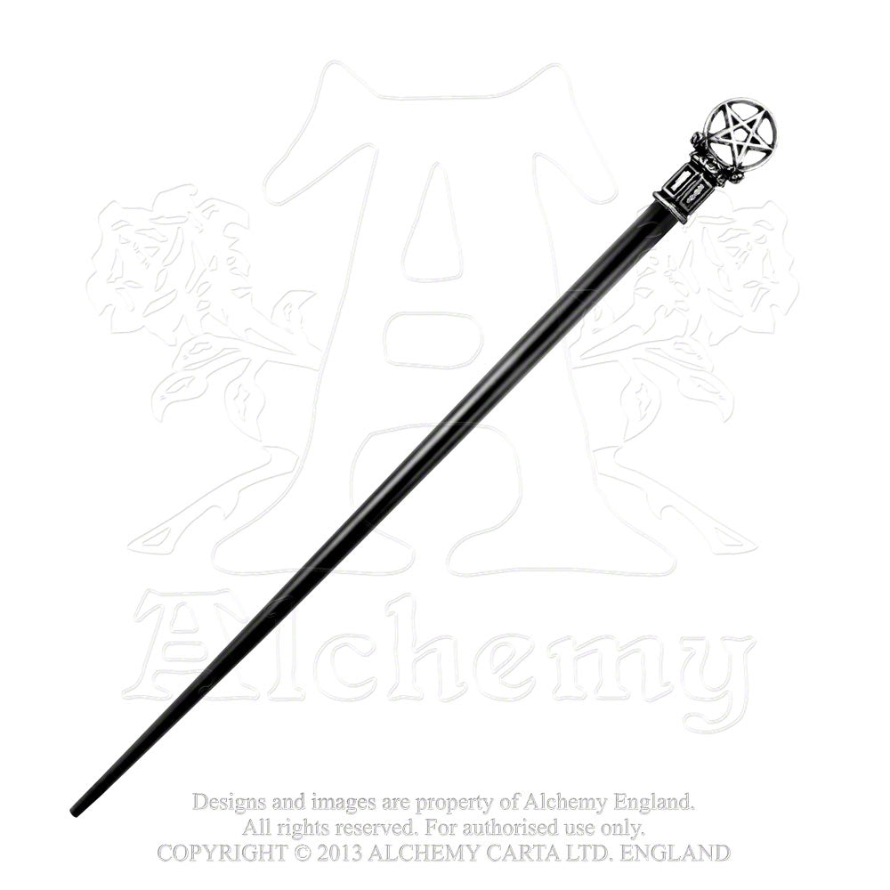 Alchemy Gothic Roseus Pentagram Hair Stick - Gothic Spirit