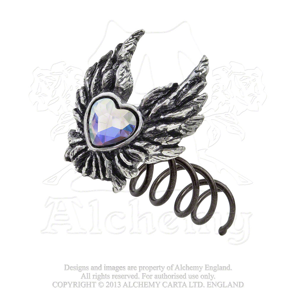 Alchemy Gothic Heart of An Angel Hair Screw from Gothic Spirit