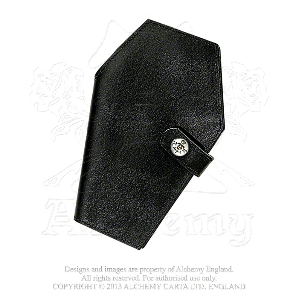 Alchemy Gothic Coffin Wallet from Gothic Spirit