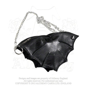Alchemy Gothic Bat Leather Purse from Gothic Spirit