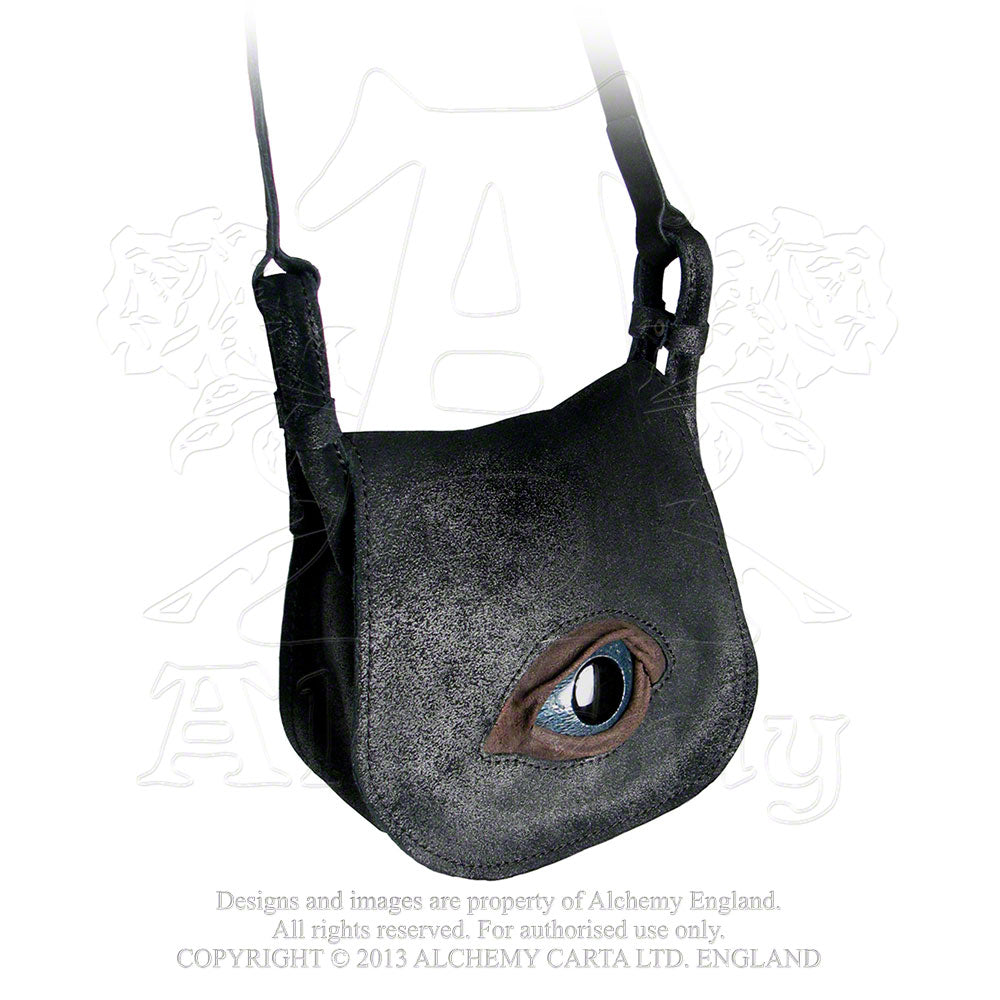 Alchemy Gothic Eye Of Providence Leather Handbag - Gothic Spirit
