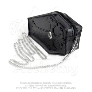 Alchemy Gothic Coffin Leather Purse from Gothic Spirit