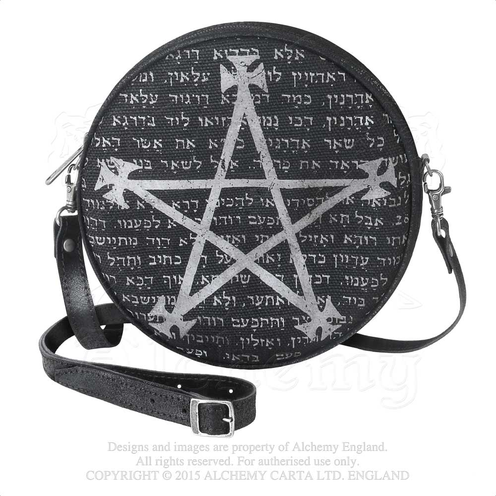 Alchemy Gothic Magic Purse Leather Bag from Gothic Spirit