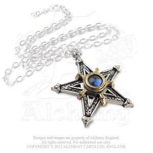 Alchemy Gothic Medieval Pentangle Pendant from Gothic Spirit