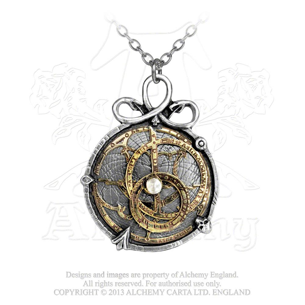 Alchemy Empire: Steampunk Anguistralobe Pendant from Gothic Spirit