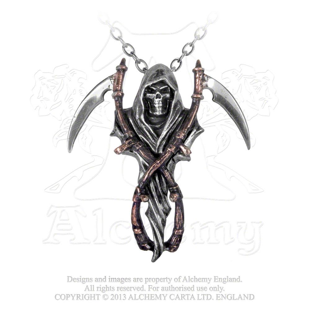 Alchemy Gothic The Reapers Arms Pendant - Gothic Spirit
