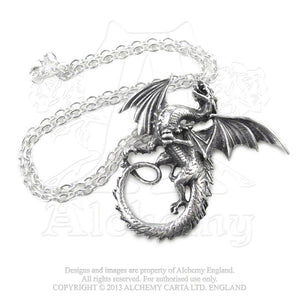 Alchemy Gothic The Whitby Wyrm Pendant from Gothic Spirit