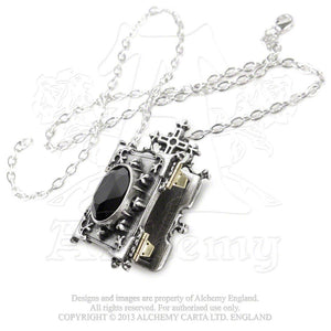 Alchemy Gothic Orthodox Icon Locket from Gothic Spirit