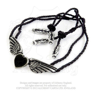 Alchemy Gothic Coeur Noir Necklace - Gothic Spirit