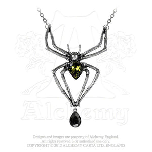 Alchemy Gothic Emerald Venom Necklace - Gothic Spirit