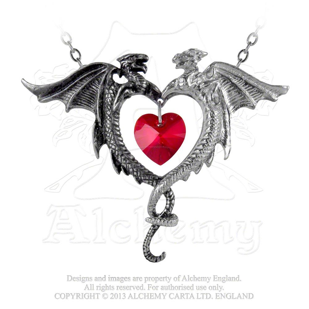 Alchemy Gothic Coeur Sauvage Pendant from Gothic Spirit