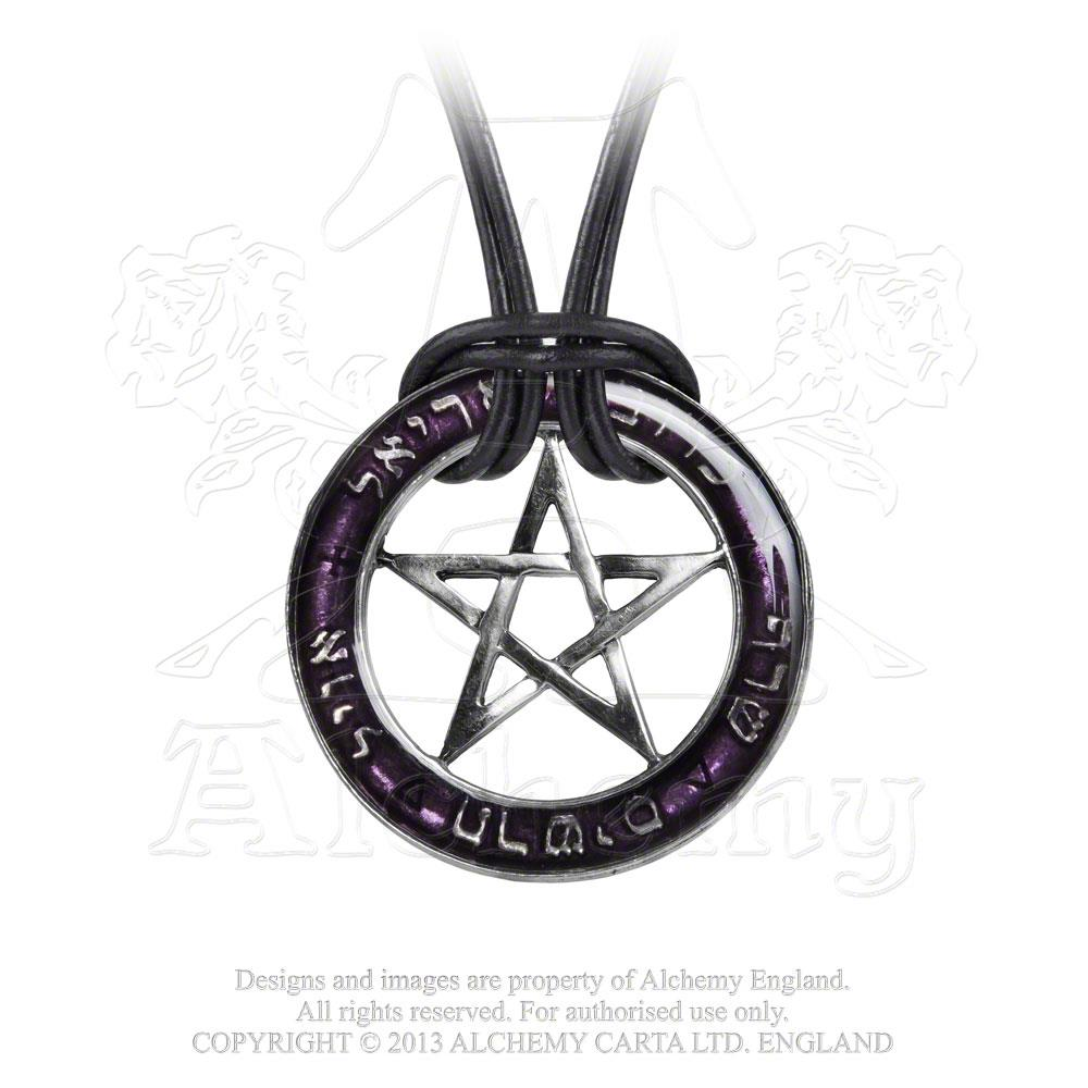 Alchemy Gothic Seal Of The Sephiroth Pendant - Gothic Spirit