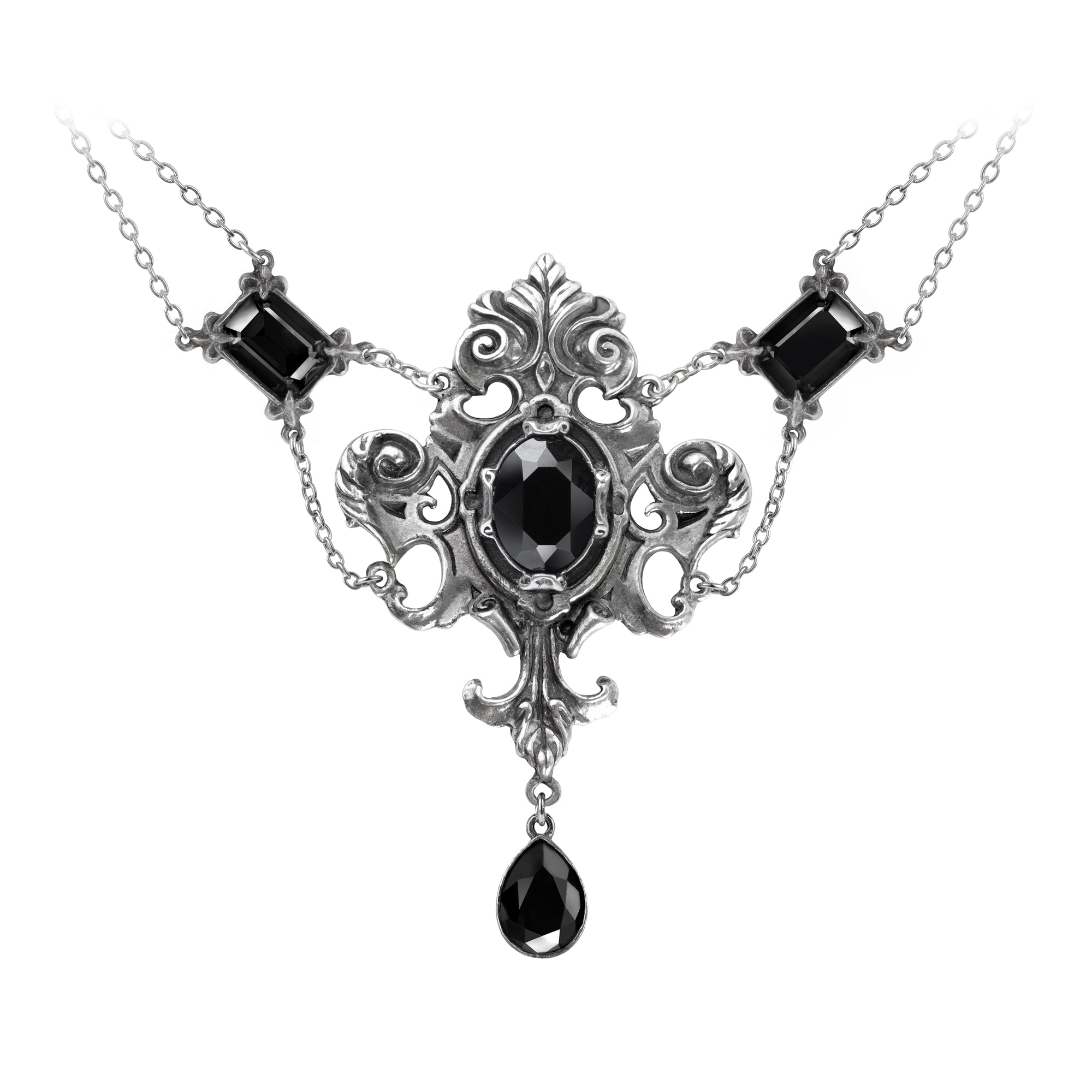 Alchemy Gothic Queen Of The Night Necklace from Gothic Spirit