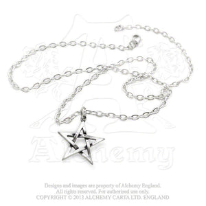 Alchemy Gothic Pentagram Pendant from Gothic Spirit