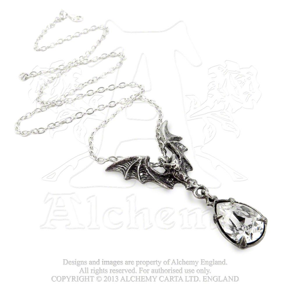 Alchemy Gothic La Nuit Bat Pendant from Gothic Spirit