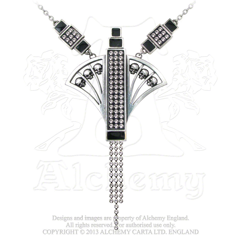Alchemy Gothic Folies Du Mort Necklace from Gothic Spirit