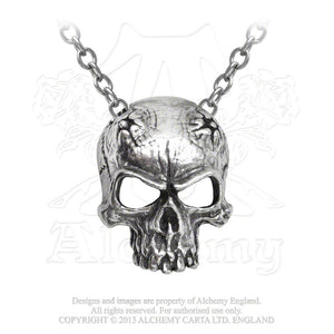 Alchemy Gothic Birth Of A Demon Pendant - Gothic Spirit
