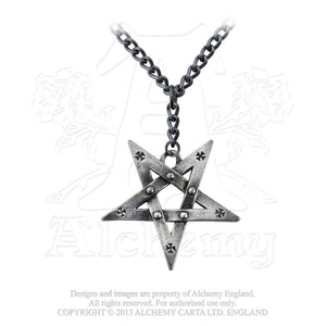Alchemy Gothic Pentagration Pendant from Gothic Spirit