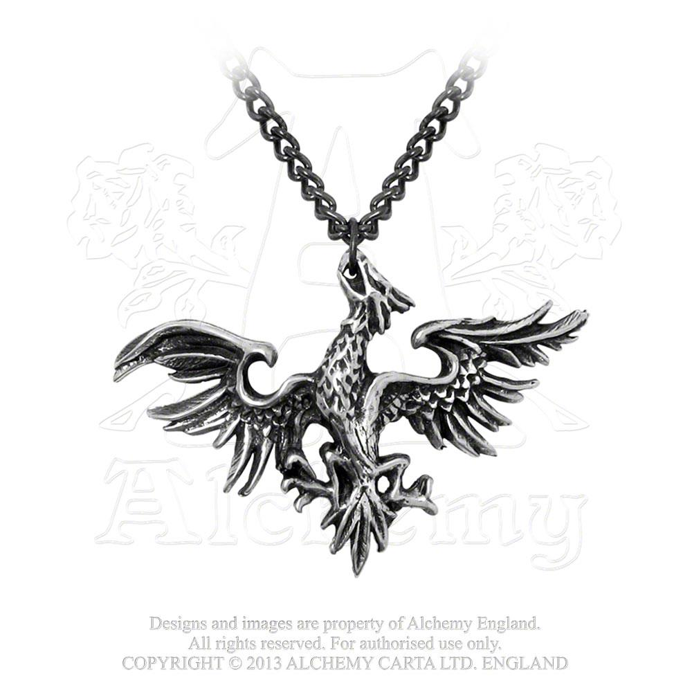 Alchemy Gothic Mettle Eagle Pendant from Gothic Spirit