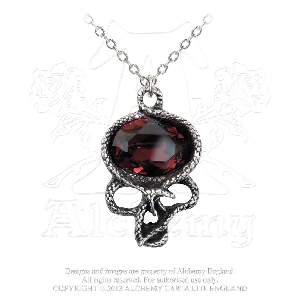 Alchemy Gothic The Demon In My Head Pendant - Gothic Spirit