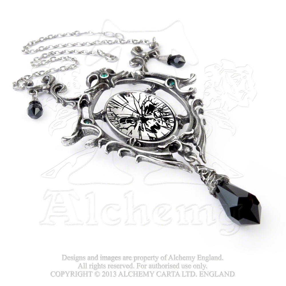 Alchemy Gothic Catoptrauma Necklace from Gothic Spirit