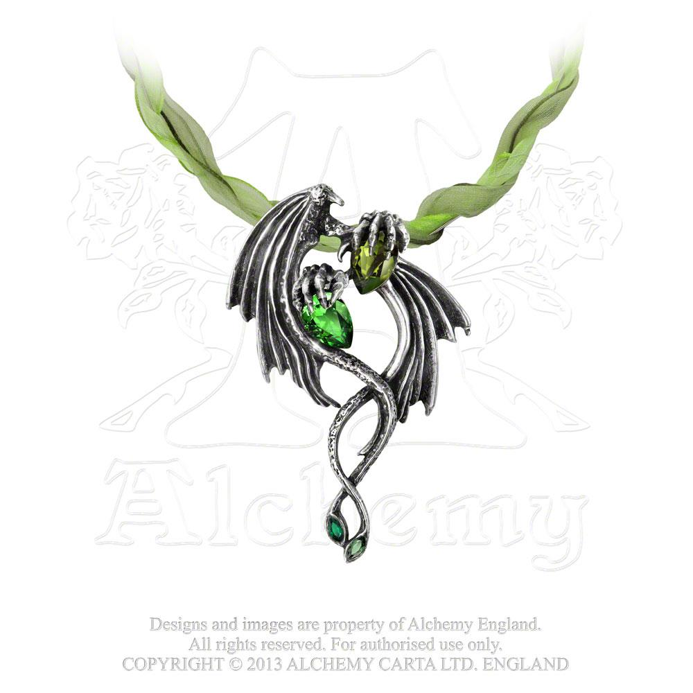 Alchemy Gothic The Emerald Dragon Choker from Gothic Spirit