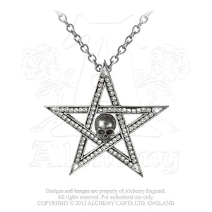 Alchemy Gothic Crystalwitch Pendant from Gothic Spirit