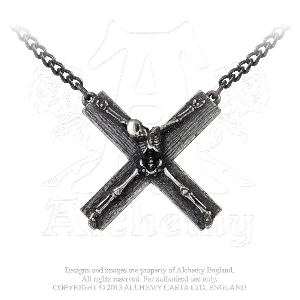 Alchemy Gothic Crucifaction Pendant from Gothic Spirit