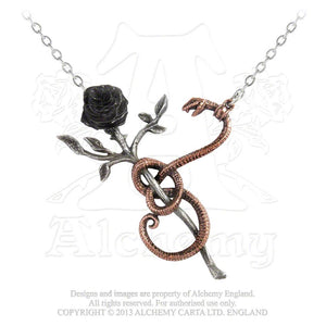 Alchemy Gothic A Rose for Eve Pendant from Gothic Spirit