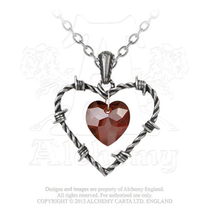 Alchemy Gothic Love Imprisoned Pendant - Gothic Spirit