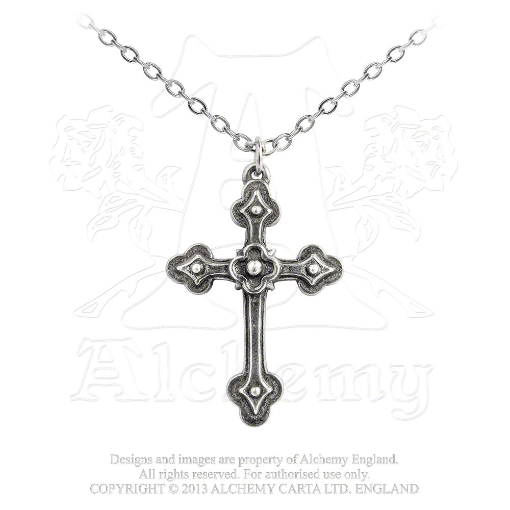 Alchemy Gothic Gothic Devotion Cross Pendant from Gothic Spirit