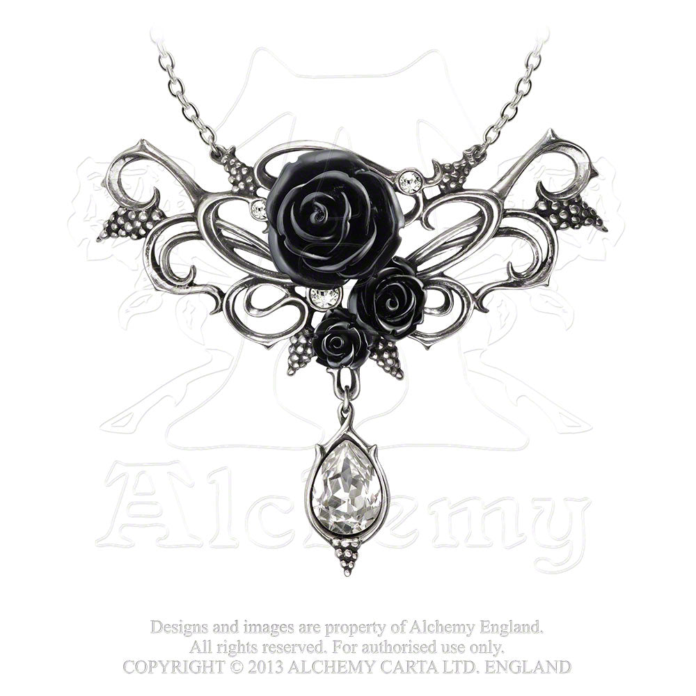 Alchemy Gothic Bacchanal Rose Necklace from Gothic Spirit
