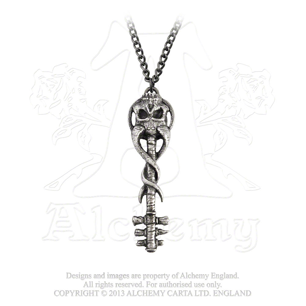 Alchemy Gothic Satan's Key To Hell Pendant from Gothic Spirit