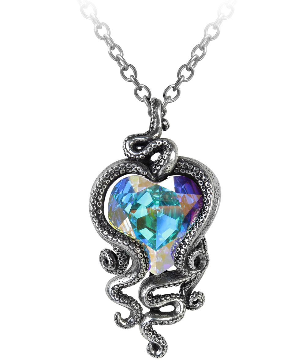 Alchemy Gothic Heart of Cthulhu Necklace from Gothic Spirit