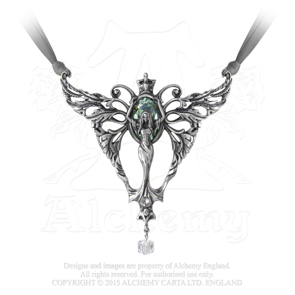 Alchemy Gothic La Belle Esprit Necklace from Gothic Spirit