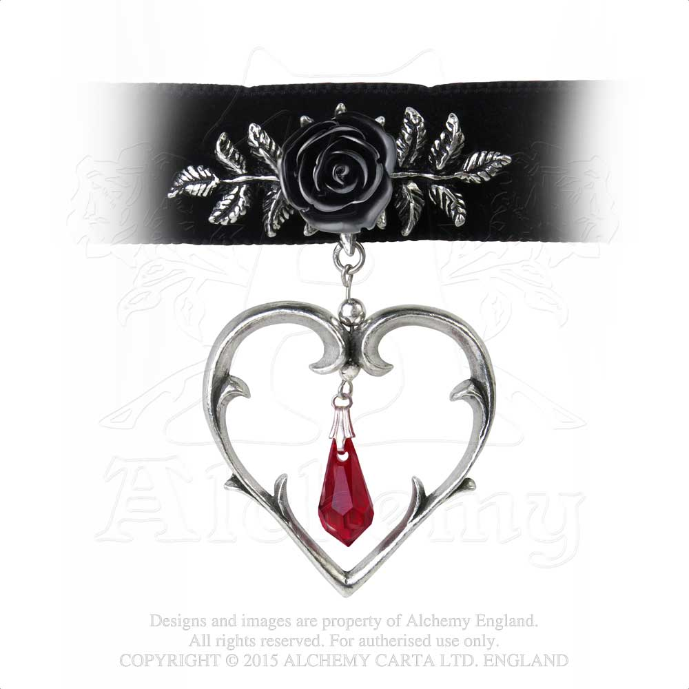 Alchemy Gothic Wounded Love Choker from Gothic Spirit
