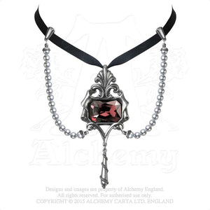 Alchemy Gothic San Esteban Pearls Choker from Gothic Spirit